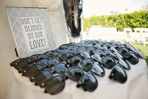 Wedding sunnies, Don't forget your guests! Sunnies are the perfect favour for a summer wedding. Stam