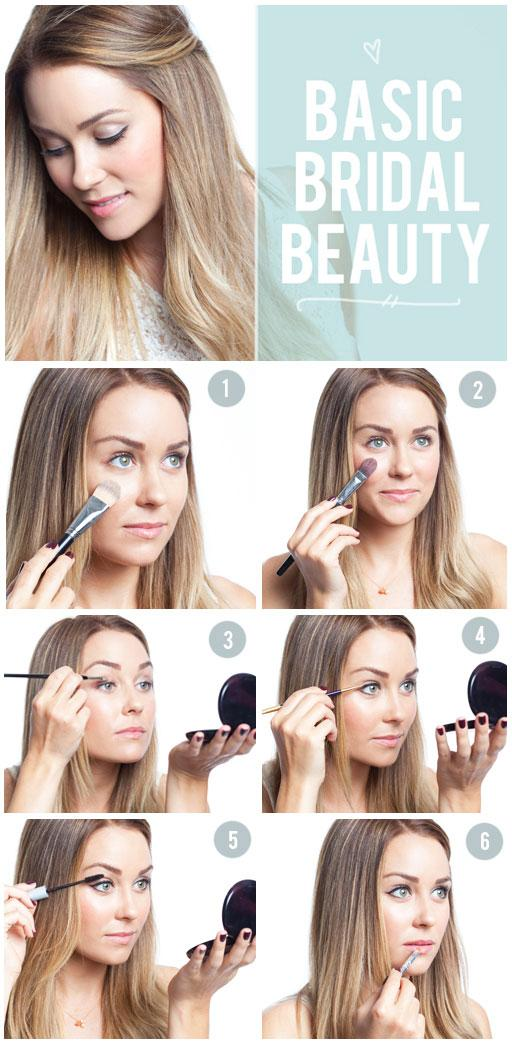 Beauty, Doing your own make-up is one way to trim a little extra from your wedding budget. This bril