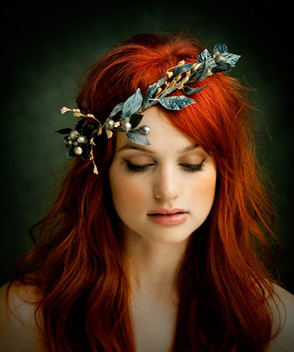 All things Hair, hair, floral crown, accessories, long, loose