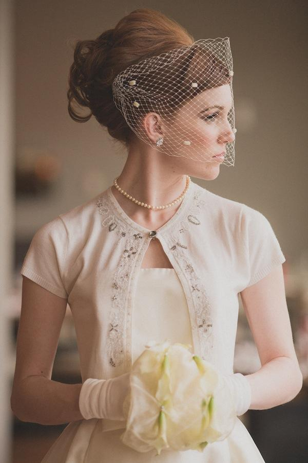 All Things Hair Veil Vintage Retro Updo Upstyle