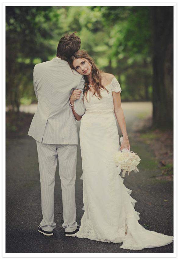 Dresses with Drama, wedding dress, white, long, texture, bouquet, hair, loose