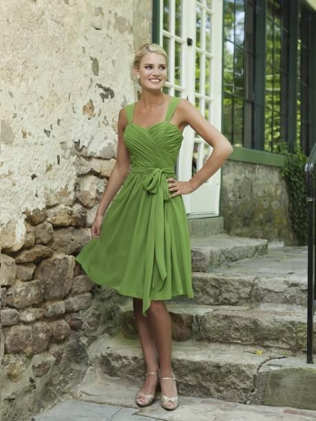 Dresses with Drama, bridesmaid, sweetheart, green