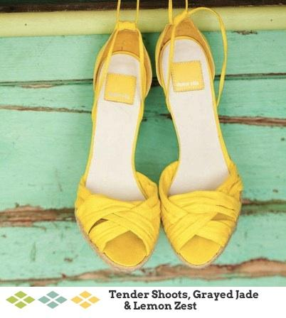 Shoes, Wedding Shoes, Sandals, Yellow