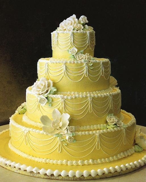 Moposa wedding planning ideas cakes wedding cake yellow flowers wedding cake wedding cake yellow flowers piping mightylinksfo