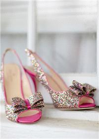 Hair & Beauty. shoes, sparkle, bows