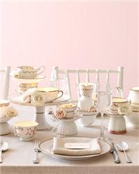 Decor & Event Styling. table, decor, china, tea