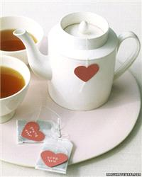 Decor & Event Styling. table settings, decor, tea, hearts