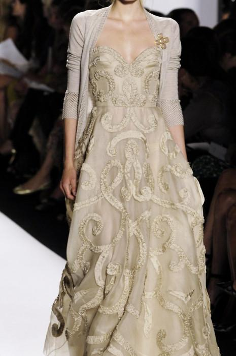 Looks we Love, Cardie with a wedding dress - perfect for an autumn wedding.