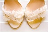 Hair & Beauty. shoes, feathers
