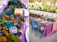 Wedding Venues. flower table
