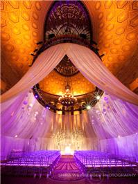 Wedding Venues. drapes