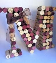 To Do at Reception, Ask bar men to save the corks at the reception to make something with later.