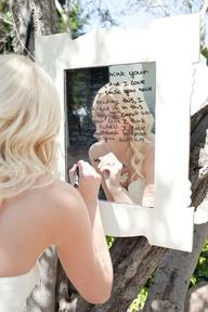 To Do on the Day, Write a note on a mirror for  your groom
