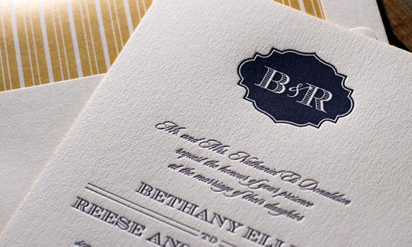 Bella Figura Letterpress, Everything about this design is customizable.This stylish invitation sui