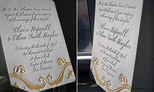 Bella Figura Letterpress, Traditional and timeless elegance! Beale letterpress invitations perfect f