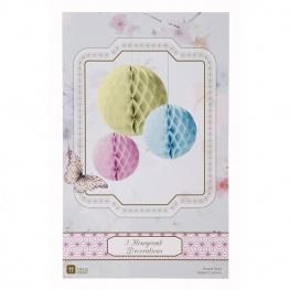 Wedding Accessories, Pretty Pastel Honeycombs will add depth and elegance to any room. Create a perf