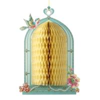 Accessories & Favours. Elegant Honeycomb Birdcage decorations will add height texture and beauty to