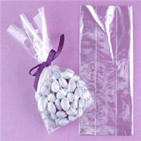 Accessories & Favours. Food safe 40 micron good quality polypropylene gusseted bags. The gussets run