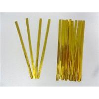 Accessories & Favours. Use these metallic gold twist ties to close your filled bags This pack includ