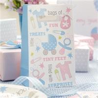 Accessories & Favours. These Tiny Feet party bags are ideal presents for your guests and a great way