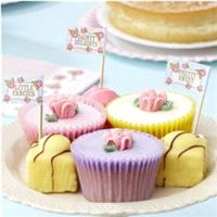 Accessories & Favours. Place in cakes, cupcakes, sandwiches, or any other party food. The 20 picks h