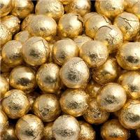 Accessories & Favours. 5g Foil wrapped Chocolate balls Approx. Quantity 100. 3/4inch in diamet
