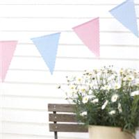 Accessories & Favours. Our gorgeous polka dot cotton bunting is die cut and has 14 pendants in a pol