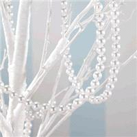 Accessories & Favours. A beautiful string of pearls. Use them to hang or drape and decorate, giving