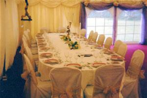Marquee Weddings, Cream Marquee With Windows