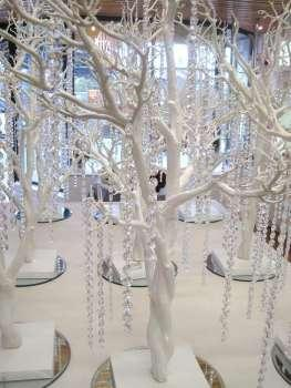 Items Too Hire, Crystal white tree.