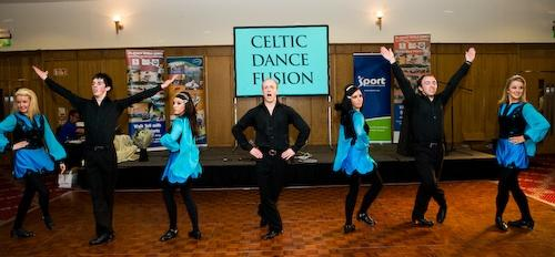 Irish dancing, Whether you have hired a band or a D.J., 'Celtic Dance Fusion' are the perfect interv