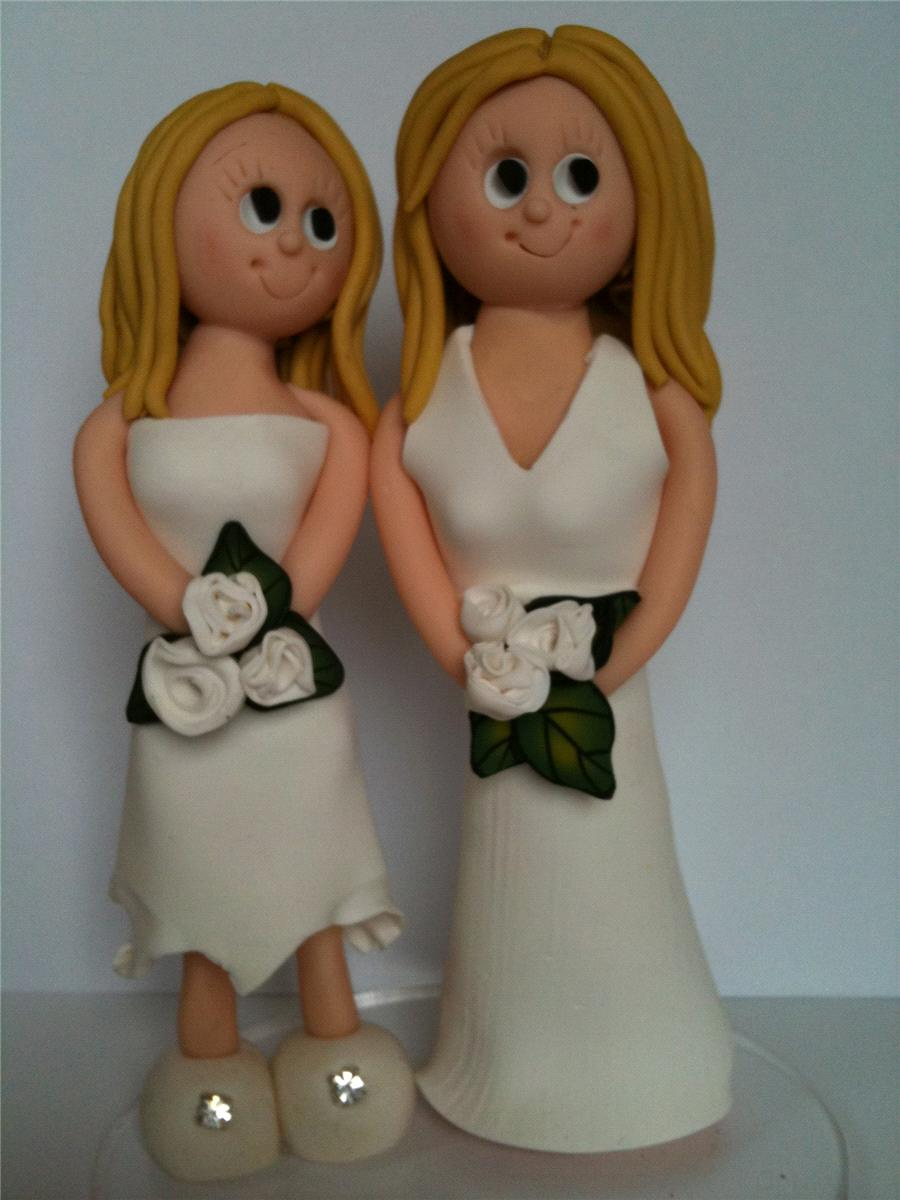 Accessories & Favours, Female Civil Partnership Cake Topper