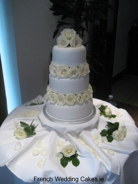 Cakes, Jardin de Roses Blanches