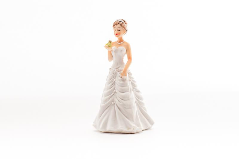 Accessories & Favours, Traditional Wedding Cake Topper (Bride alone)