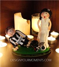 Accessories & Favours. Slide Tackle Couple