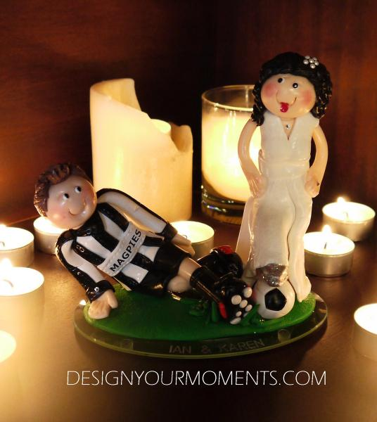 Accessories & Favours, Slide Tackle Couple