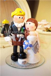 Accessories & Favours. The Builder and the Apple Mac Bride
