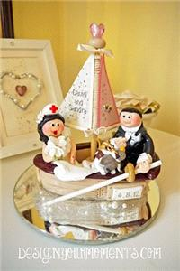 Accessories & Favours. Boat Lovers Couple