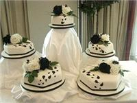 Cakes. Philips Surprise Wedding Cake. Each wedding cake is decorated to your own specification and c