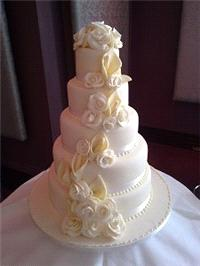 Cakes. Helena Wedding Cake. Each wedding cake is decorated to your own specification and colour them