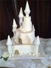 Cakes. Ciara Wedding Cake. Each wedding cake is decorated to your own specification and colour theme