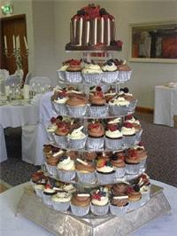 Cakes. Chocolate and Fruit Cupcakes. Each wedding cake is decorated to your own specification and co