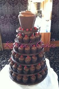 Cakes. Chocolate Heaven Wedding Cake. Each wedding cake is decorated to your own specification and c