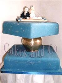 Cakes. Arabian Nights Wedding Cake