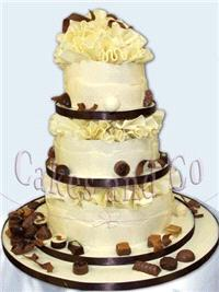 Cakes. Cake and Candy Wedding Cake