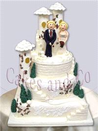 Cakes. Castle and Dreams Wedding Cake