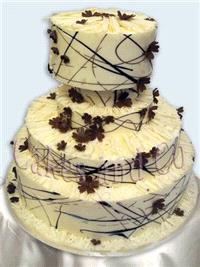 Cakes. Chocolate Magic Wedding Cake