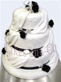 Cakes. Diamante Wedding Cake