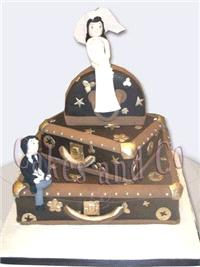 Cakes. Louis Vuitton Wedding Cake