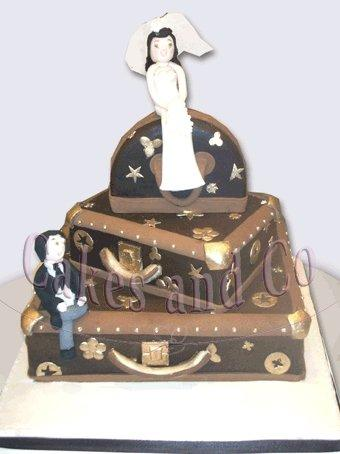 Cakes, Louis Vuitton Wedding Cake